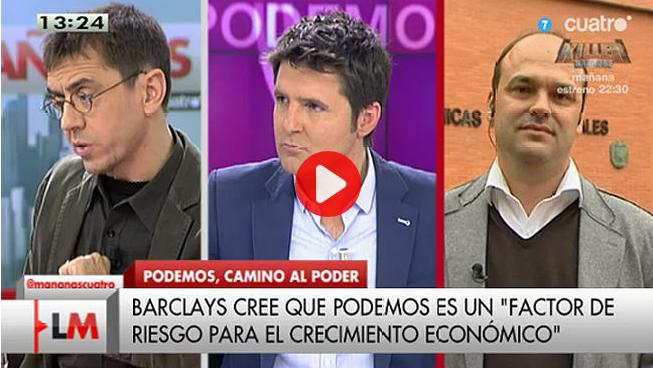 José Carlos Díez y Monedero en Cuatro
