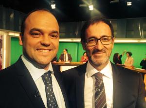 En TV3 con Xavier Graset sobre comercio, UE e independencia