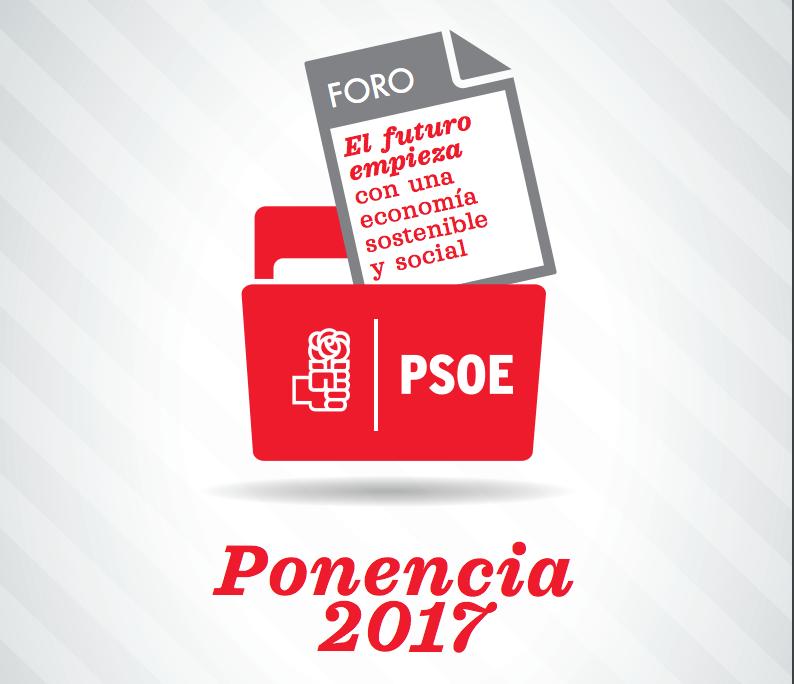 documento ponencia económica PSOE