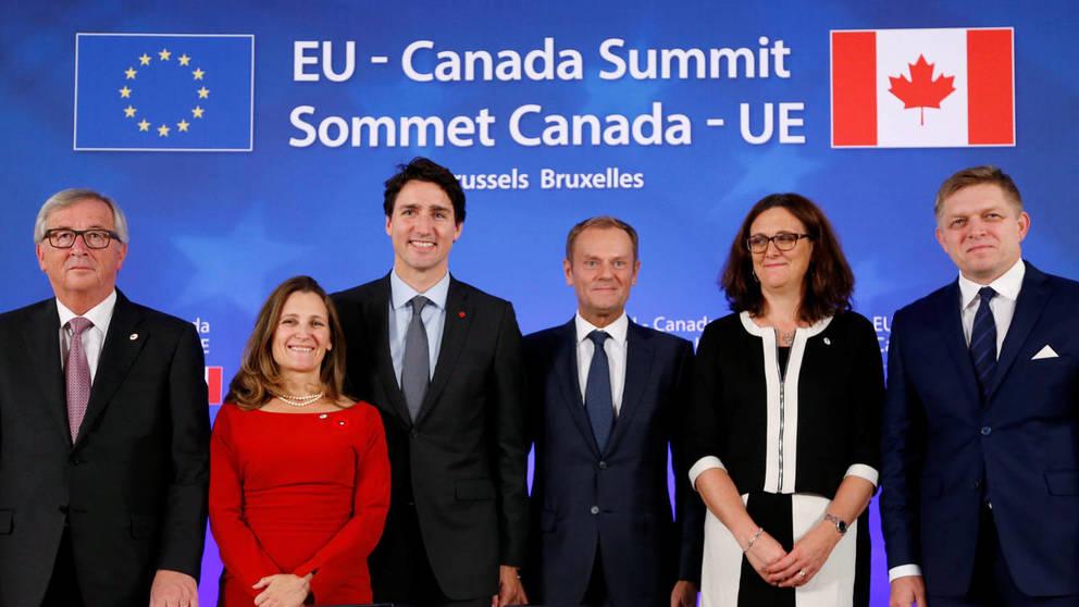 CETA, Acuerdo de Libre Comercio con Canadá