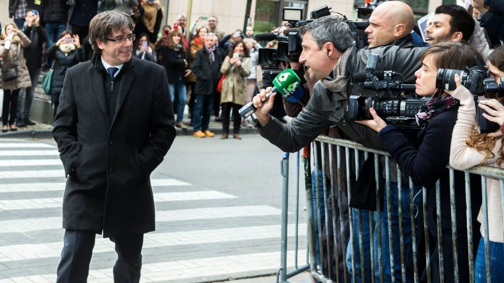 Mobile World Congress y Puigdemont